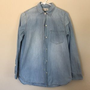 Madewell denim shirt sz S VEUC Women's